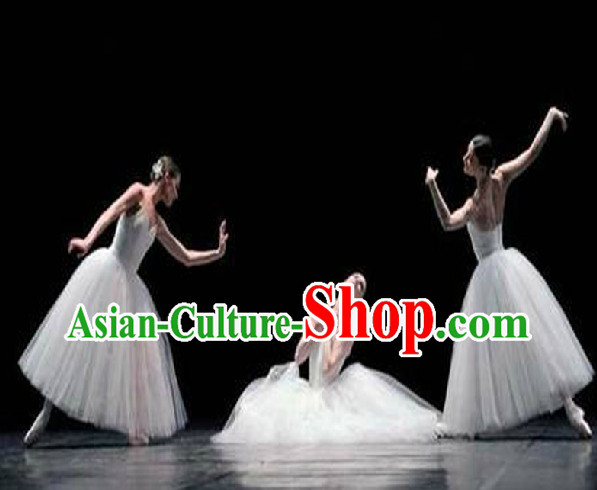 Special Custom Make Ballet Dance Costumes and Hair Decoration