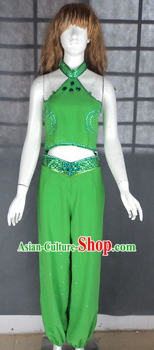 Green Legend Classical Dancing Outfit for Women