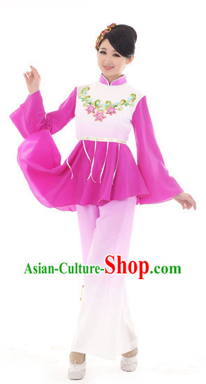 Traditional Chinese Square Dance Costumes