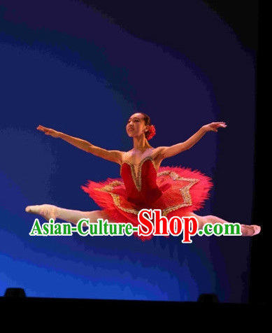 Professional Adult Size Ballet Dance Costumes Complete Set