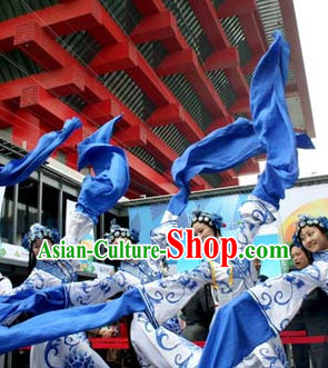 Peking Opera Style Long Sleeves Dance Costumes