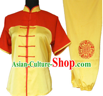 Professional Silk Short Sleeves Competition Costumes
