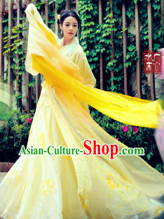Ancient Chinese Beauty Hanfu Clothes Complete Set