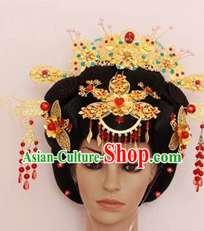 Chinese Traditional Black Wig