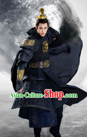 Lanling Queen China TV Drama Prince Armor Suit Complete Set