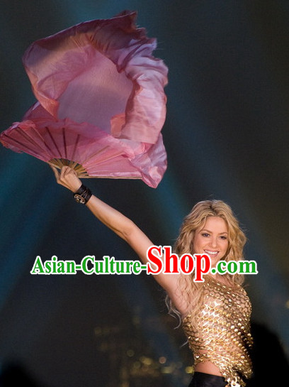 Professional Stage Performance Concert Silk Dance Fan