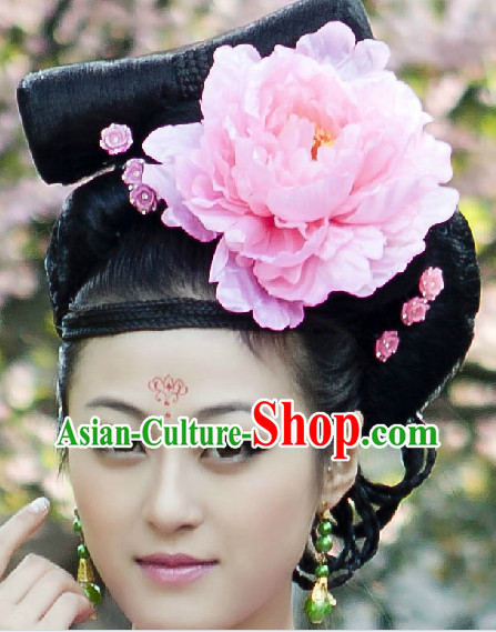 Traditional Chinese Hanfu Wig