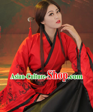 Fine Chinese Clothing Women Han Fu Hanfu Clothing