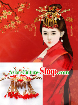 Traditional Chinese Hanfu Headdress