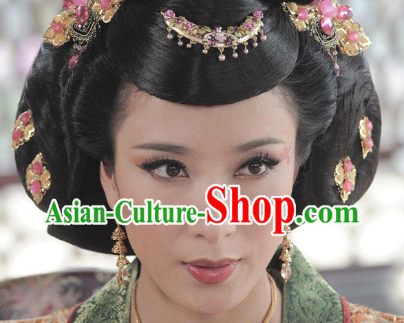 Ancient Chinese Princess or Empress Wig Hair Cap