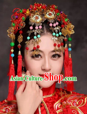 Chinese Wedding Arts Phoenix Hat