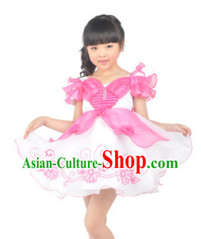 Butterfly Dance Costumes for Little Girls
