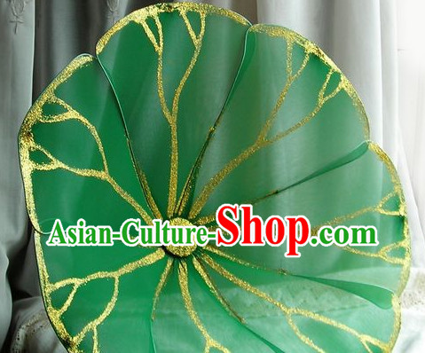 Handmade Lotus Leaf Dance Prop