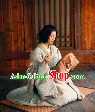 Chinese Classical Hanfu Dresses Complete Set