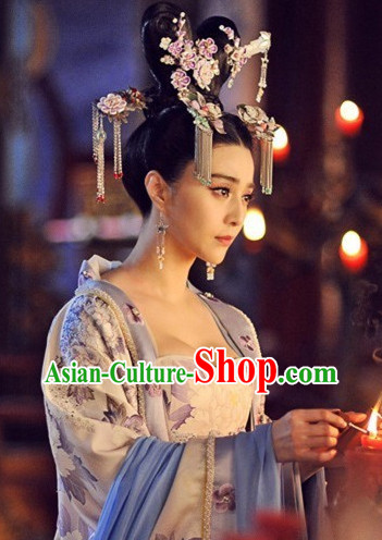 Ancient Chinese Great Female Emperor Hair Ornaments Complete Set