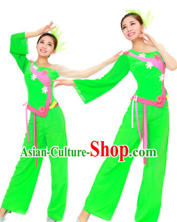 Chinese Yangge and Waist Drum Dance Suit