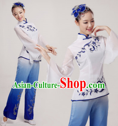 Traditional Fan Dancer Costume