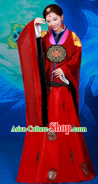 Chinese Lv Zhen Imperial Female Court Dress
