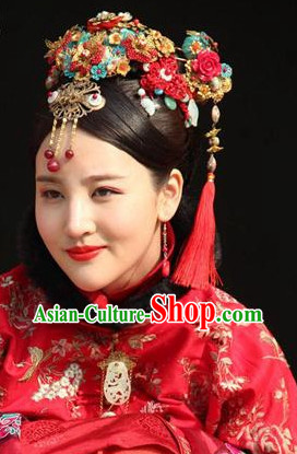 Traditional Chinese Bridal Hair Accessories