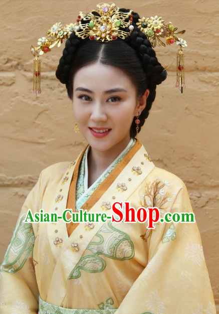 Chinese Imperial Royal Princess Hair Jewelry