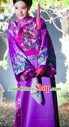 Top Traditional Chinese Manchu Robe for Women