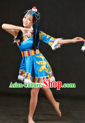 Tibetan Silk Dancing Dress