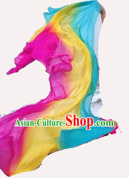 Traditional Pure Silk Dance Scarf Kerchief