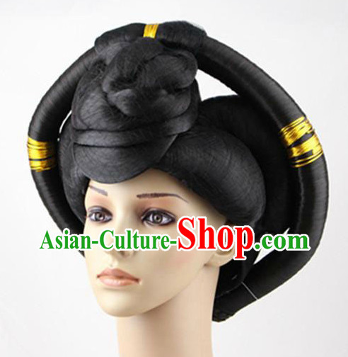 Ancient Chinese Imperial Princess Hair Accessories and Wig