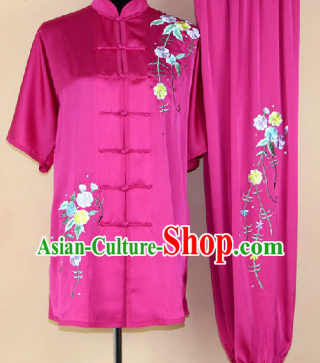 Top Professional Silk Martial Arts Suit for Women