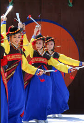 National Korean Sword Dance Costumes for Women