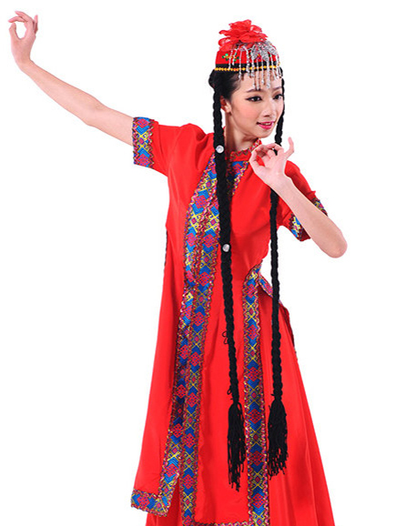 Clothes of Xinjiang Dance