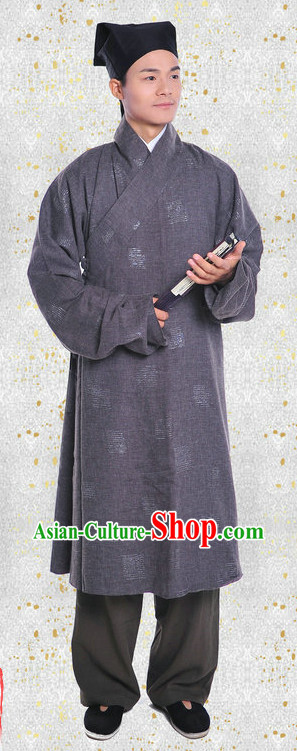 Winter Wear Deep Gown and Hat Complete Set for Men