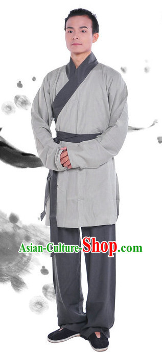 Traditional Han Dynasty Outfit Complete Set for Men