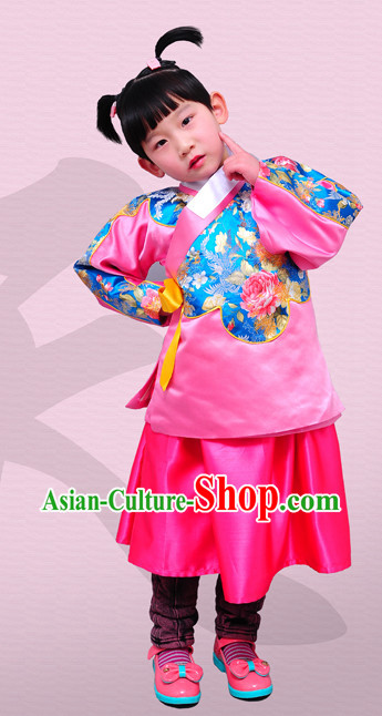 Chinese Traditional Dress for Kids