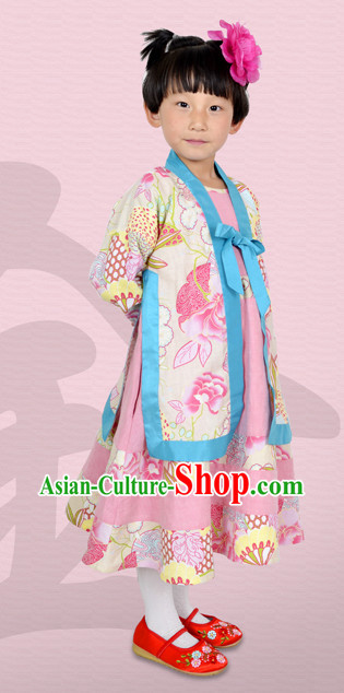 Chinese Classical Clothes for Little Girls