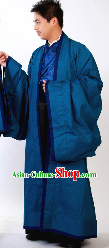 Wide Sleeve Winter Gown for Men