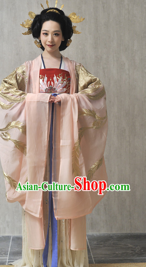Chinese Traditional Dresses and Hair Accessories for Women