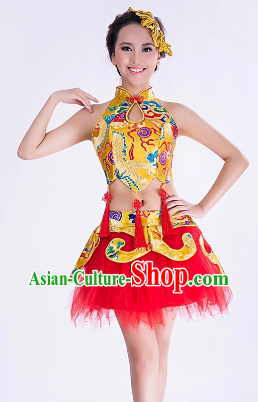 Chinese Dance Competition Costumes