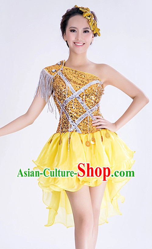 Chinese Dance Outfits for Girls