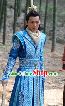 Chinese Tang Dynasty Prince Men Clothing