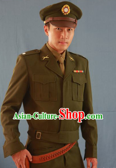 Old Times Chinese Military Uniform