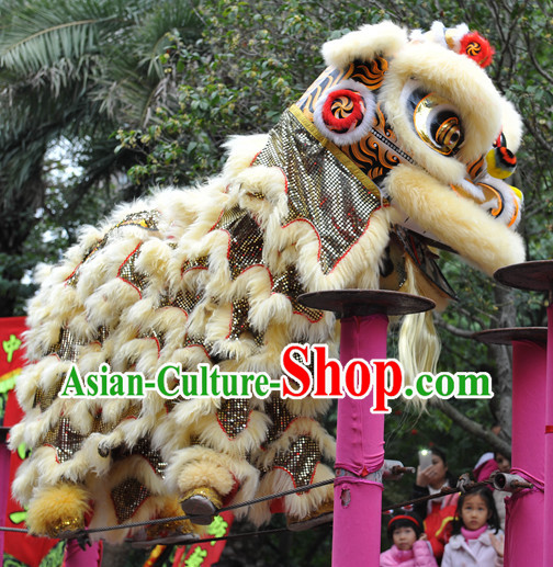 Top Chinese Lion Dancing Costumes for Celebration and Competition