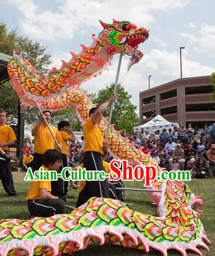 Chinese Classical Southern Luminous Dragon Dance Costumes Complete Set