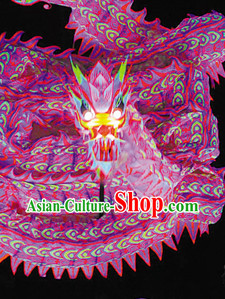 Chinese Traditional Southern Luminous Dragon Dancing Costumes Complete Set
