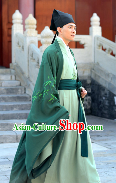 Ancient Chinese Scholar Hanfu Clothing