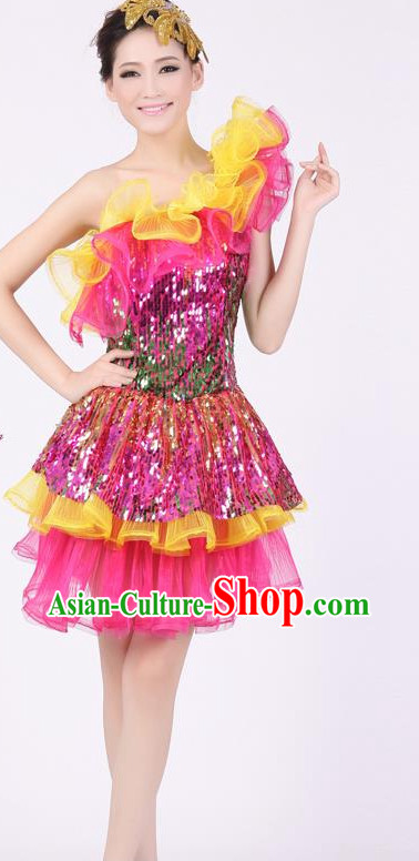 Chinese China Fashion Dance Costumes