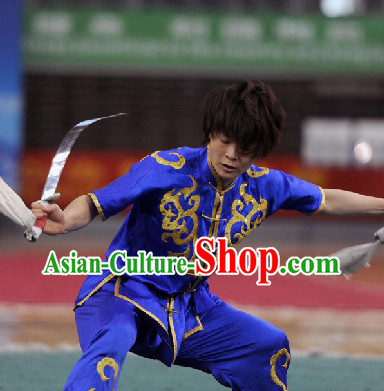 Top Martial Arts Silk Uniform