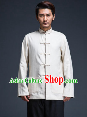 Top Black Tai Chi Suit for Men