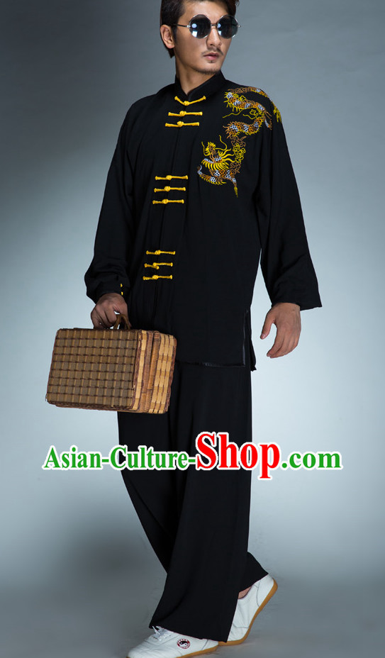 Top Kung Fu Tai Chi Silk Uniform