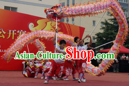 College Luminous Dragon Dancing Costumes Complete Set